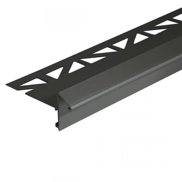 Balkonwinkelprofil mit Tropfkante anthrazit 16 mm Höhe