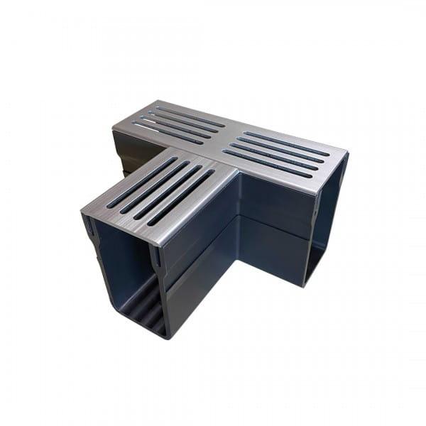 T-Stück UDP 65 silber