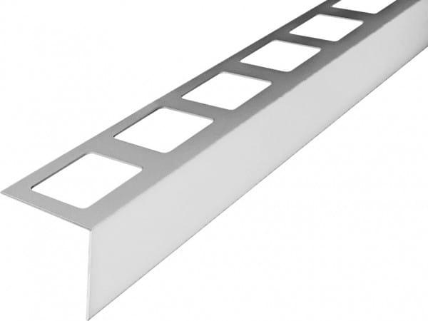 Balkonprofil L-Form Edelstahl 300 cm 55 mm