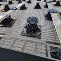 Antirutschmatte für Stelzlager Anwendungsfoto