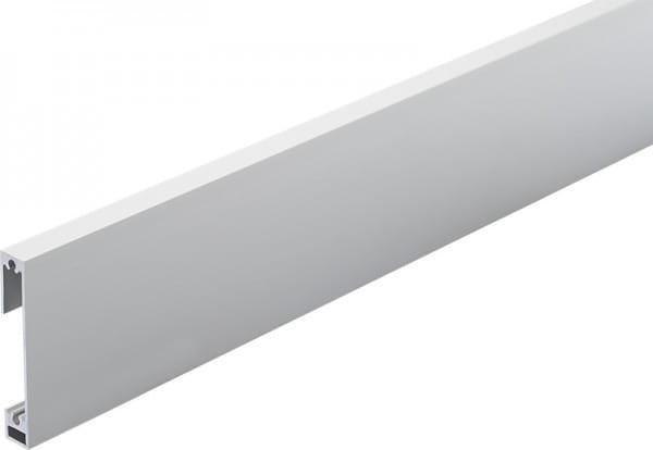 Sockelleiste Square silber