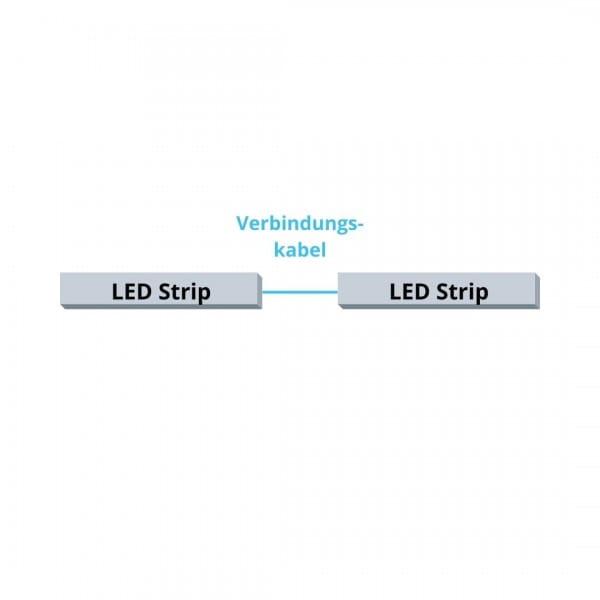 DURAL LED Verbindungskabel Skizze