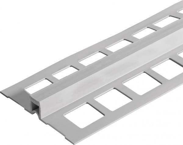 Dehnungsfugenprofil mit breiten Schenkeln aus PVC