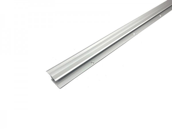 Übergangsprofil flexibel aus Aluminium silber