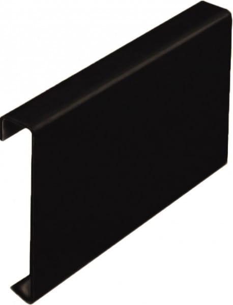 Verbinder für Balkonprofil T-Form 75 mm grau-braun