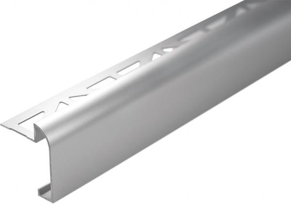 DURAL Arbeitsplattenprofil 9 mm silber eloxiert (matt)