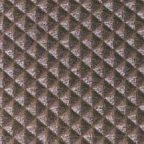 Sicherheitseinlage 13 mm für Treppenprofil braun