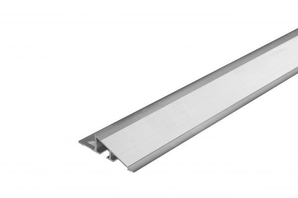 Anpassungsprofil breit aus Aluminium natur 250 cm