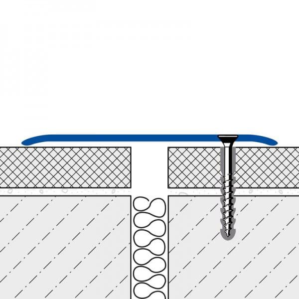 Abdeckprofil FLEX Edelstahl technische Zeichnung