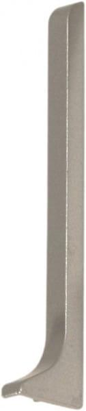 Endkappe für Sockelleisten 40 mm silber rechts eloxiert (matt)