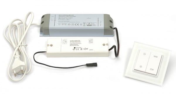 DURAL LED Anschluss Set Emotion 60 Watt 750 cm Wandschalter