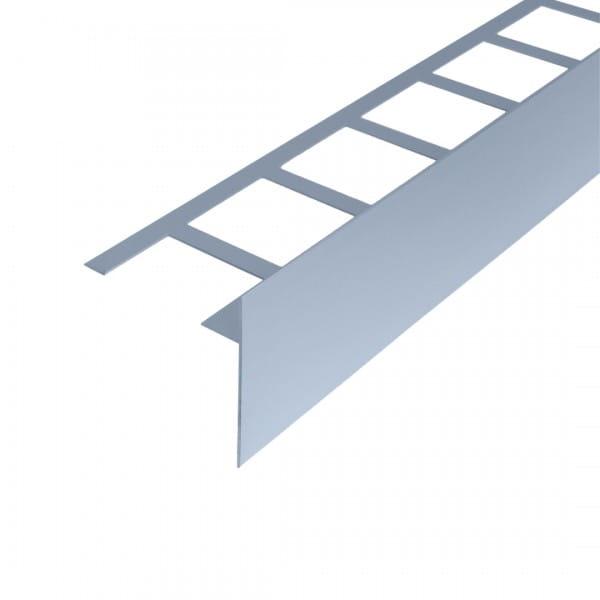 Balkonwinkelprofil T-Form platingrau