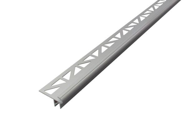 DURAL LED Treppenprofil im Florentiner Stil 9 mm silber