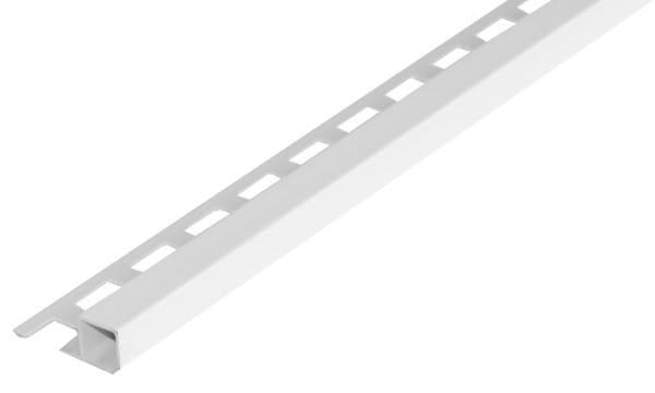 Quadratprofil PVC weiß