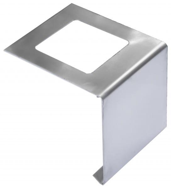 Verbinder für Balkonprofil L-Form Edelstahl 55 mm