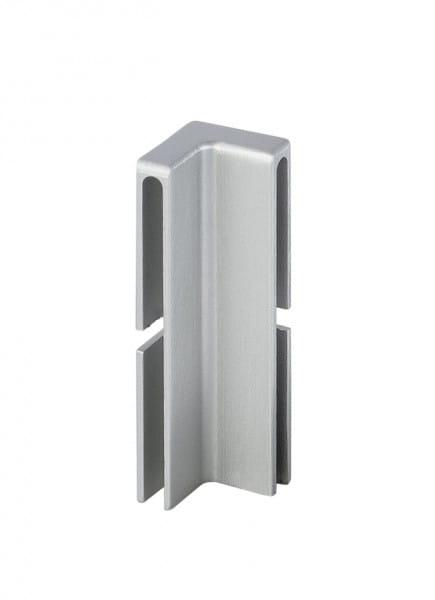 Innenecke für Balkonwinkelprofil T-Form 40 mm silber