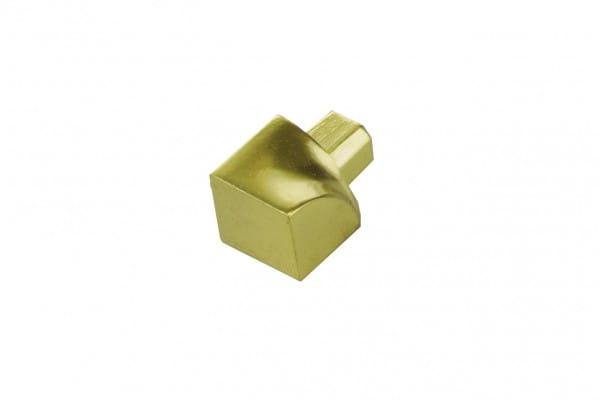 Innenecke gold eloxiert
