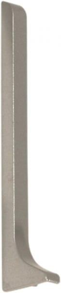 Endkappe für Sockelleisten 40 mm silber links eloxiert (matt)