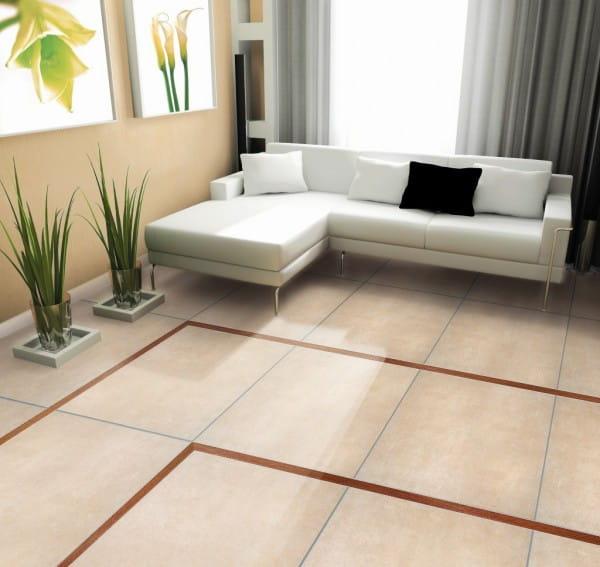Dekorprofil mit Echtholzeinlage Wohnzimmer